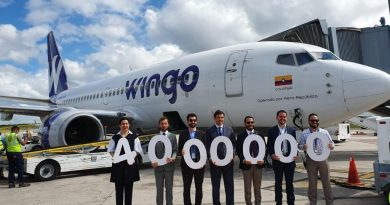 Aerodom celebra la llegada del pasajero 4 millones