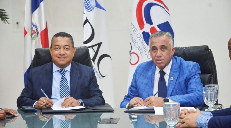IDAC y el COD firman acuerdo de colaboración interinstitucional